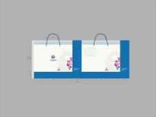 购物袋设计模板