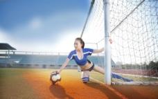 世界杯美女 足球场 足球宝贝图片