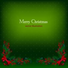 美丽的圣诞背景01矢量