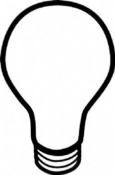 灯泡简笔画