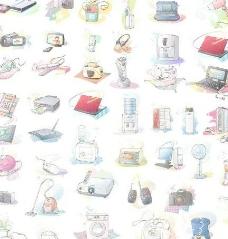 家庭卡通电器图片