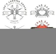 海鲜海产螃蟹龙虾图片