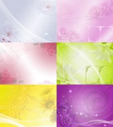 漂亮的背景图片集合PSD分层素材
