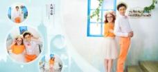 婚纱模版 宽屏水晶 韩式婚纱图片
