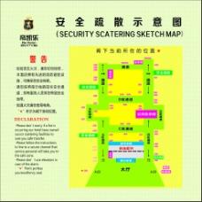 安全疏散图
