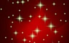 红色的圣诞背景矢量
