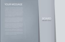 企业宣传册的背景模板矢量集02