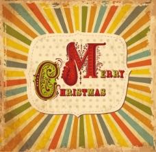 卡通圣诞卡04 -矢量素材