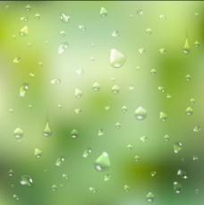 模糊背景艺术02晶体的水滴