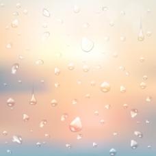模糊背景艺术03晶体的水滴