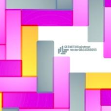 闪亮的几何抽象图形背景03