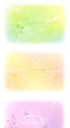 淡色花纹背景免费下载