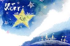 天空中的星星
