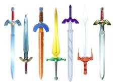 骑士剑素材图片