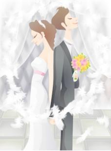 甜蜜的婚礼集79矢量