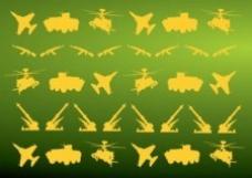 军事图标模式