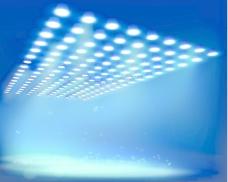 明亮的聚光灯背景图形05