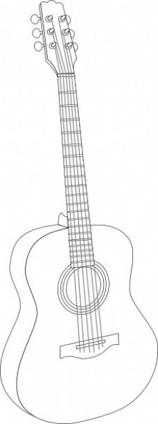 吉他怎么画简笔画步骤