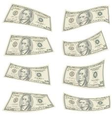 钱的设计元素矢量图形05创意