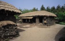 韩国古代民居图片