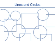 圆方格子风格图案PPT模板
