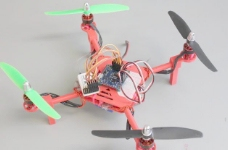 DIY微型直升机的W / 3D印制电机支架,顶