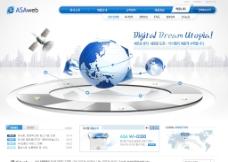 现代科技网站图片