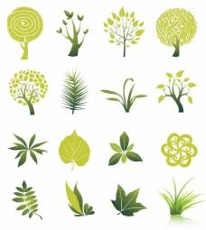 树和叶向量集