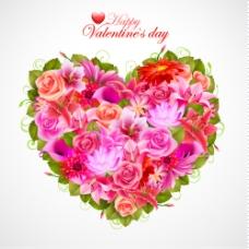 每天花05 valentine39s背景矢量