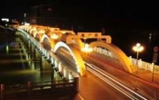 梅江桥夜景jpg图片