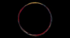 圆形水彩画框视频