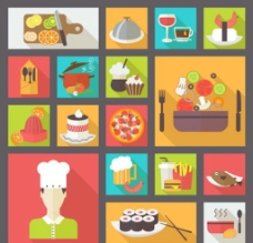 餐饮食物图标图片