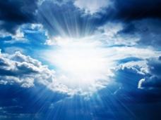 大气磅礴乌云背景