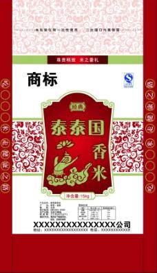 中国风泰国大米红色