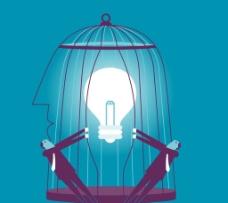 笼子牢笼 卡通设计 商图片