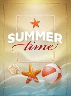 夏季旅游广告海报 海图片