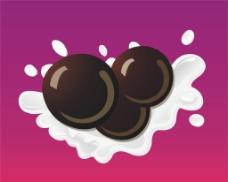 牛奶 珍珠图片