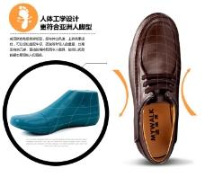 男鞋设计理念图文模板