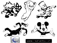 卡通人物、吉祥物