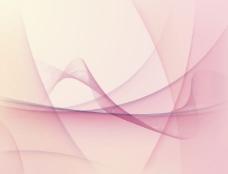 摘要粉红色的波矢量背景