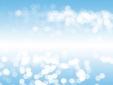 浅蓝光斑banner背景
