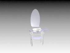 台盆3d模型卫生间用品装修效果图 93