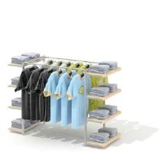 商业道具专卖店3d素材3d模型素材 1