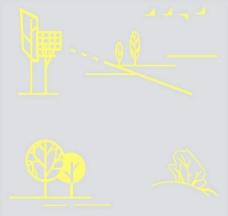 17-儿童房墙体彩饰/儿童壁纸3d材质贴图素材免费下载