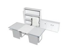 办公家具办公桌3d模型3d素材 23