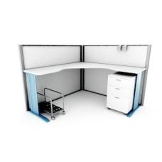 办公家具办公桌3d模型3d素材模板 144