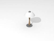 台灯3d模型灯具设计素材 37