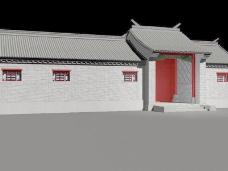中式建筑3d模型下载3d建筑模型 10