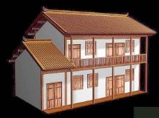 中式建筑3d模型下载3d建筑模型下载 18