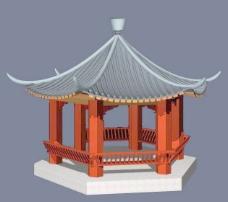 中式建筑3d模型下载3d建筑模型下载 28